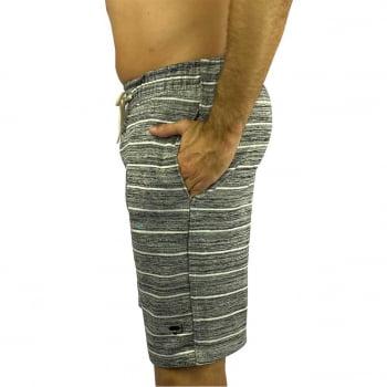 Bermuda Moletom Masculina Premium Stripes Praiar