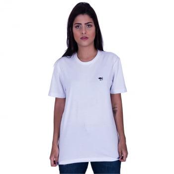Camiseta Básica Branca Praiar