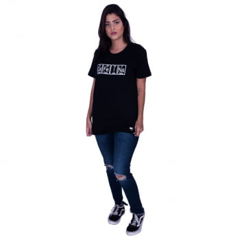 Camiseta Estampada Cafeína Praiar