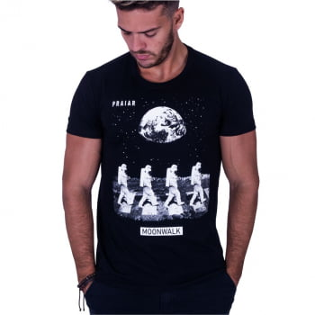 Camiseta Estampada Moonwalk Praiar
