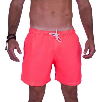 Short Masculino Rosa Neon Praiar